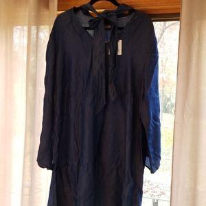 Nanette Lapore Chambray Tencel Dress 2X